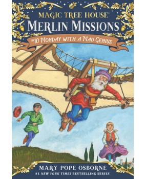 Magic Tree House - Merlin Missions - Monday with a Mad Genius