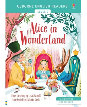 Usborne Story Books Level 2 - Alice In Wonderland
