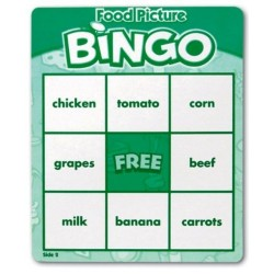 Food Picture Bingo