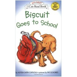 Biscuit Goes to School (My First I Can Read - Level Pre1)