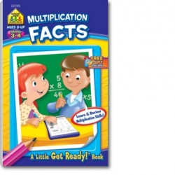 Multiplication Facts, Grades 3-4 (A Little Get Ready! Book)