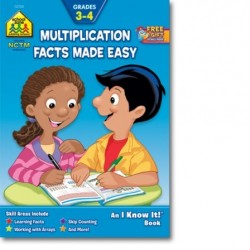 Multiplication Facts Made Easy 3-4 Workbook