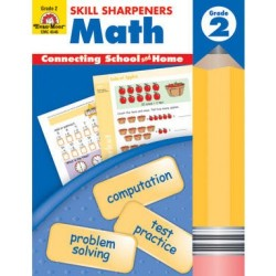 Skill Sharpeners Math Grade 2
