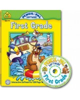 Pencil-Pal First Grade Software & Workbook