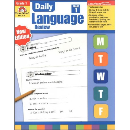 Daily Language Review 1. Student book