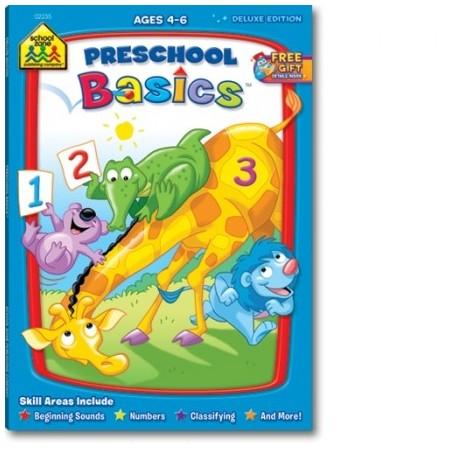 Preschool Basics Deluxe Edition Workbook