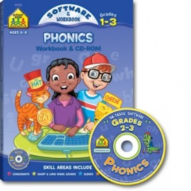 Phonics 1-3 On-Track Software & Workbook