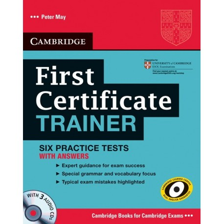 First certificate trainer six practice tests with answers cds first certificate trainer six practice tests with answers cds yelopaper Image collections