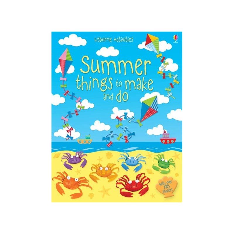 SUMMER ACTIVITY BOOKS > Sticker & colouring books > Summer things t...