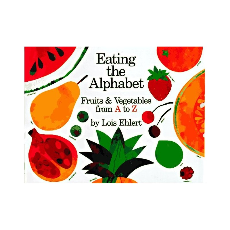 eating the alphabet coloring pages - photo#32
