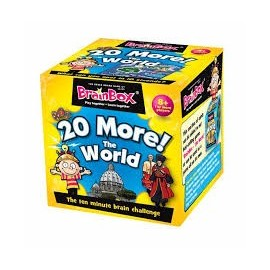 Brain Box 20 More The World