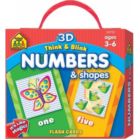 3D Think & Blink Numbers & Shapes