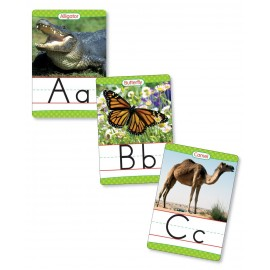 Animals From A to Z Manuscript Alphabet Set