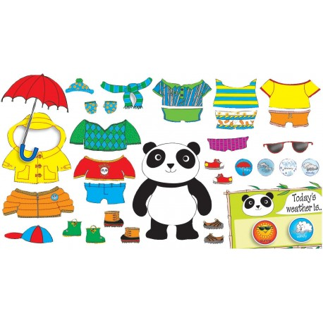 Scholastic Weather Panda Bulletin Board