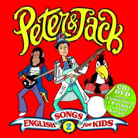 Peter & Jack. English Songs For Kids 2 (CD + Dvd)