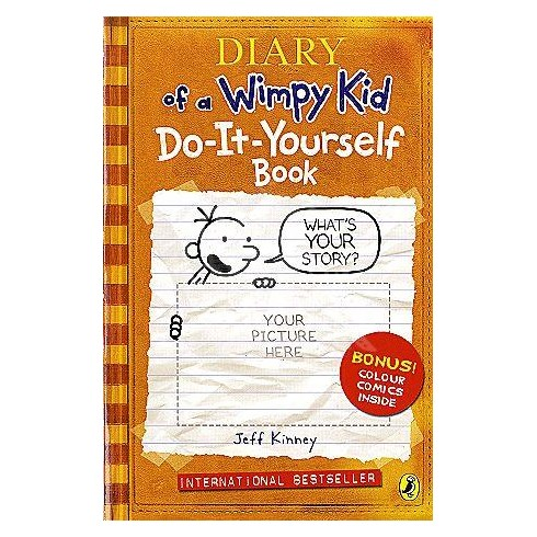 Diary of a wimpy kid do it yourself book english wooks for Wohnzimmertisch do it yourself