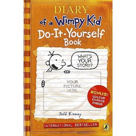 Diary of a wimpy kid do it yourself book english wooks diary of a wimpy kid do it yourself book solutioingenieria Image collections