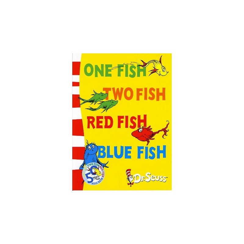 One Fish, Two Fish, Red Fish, Blue Fish (Dr Seuss - Blue Back Book ...