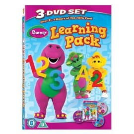 Barney - Learning Pack (Children's 3 DVD Set)