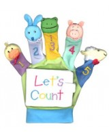 A Hand-Puppet Board Book: Let's Count