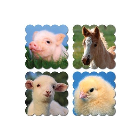 Baby Farm Animals Scratch 'n Sniff Stickers