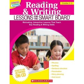 Reading & Writing Lessons for the Smart Board, Grades 2-3 + CDROM