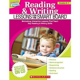 Reading & Writing Lessons for the SMART Board (Grades K-1) + CDROM