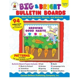 Big & Bright Bulletin Boards, Grades Pk-3