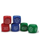 Foam Reading Comprehension Cube