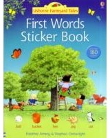 First Words Sticker Book (English)