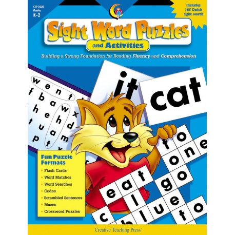 Sight Word Puzzles and Activities