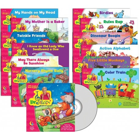 Dr Jean Lap Book & CD Variety Pack