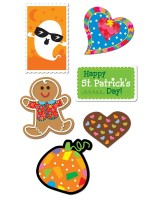 Holiday sticker  variety