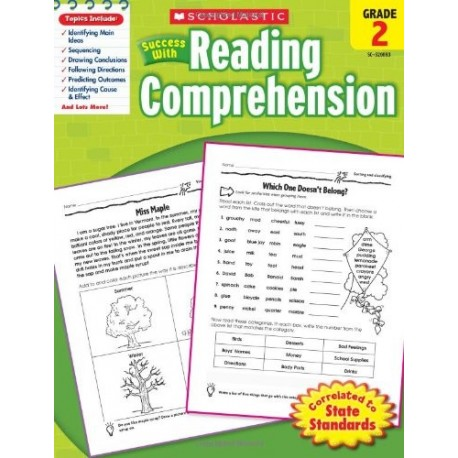 Success with Reading Comprehension, Grade 2