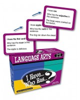 I have, who has language arts  game. Grade 3-4