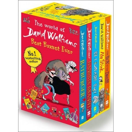 The world of David Walliams Best Boxset ever