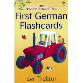 First German Flashcards (Usborne Farmyard Tales)