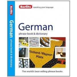 GERMAN PHRASE BOOK & DICTIONARY