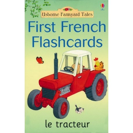 First Words in French Flashcards (Farmyard Tales Flashcards)