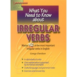 What you need to know about irregulars verbs