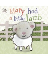 Mary Had a Little Lamb: Finger puppet book