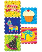 Poppin' Patterns Happy Birthday Scratch 'n Sniff