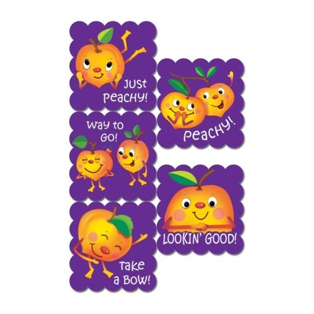 Sticker - Cartoon Fruit Peach Scratch n Sniff