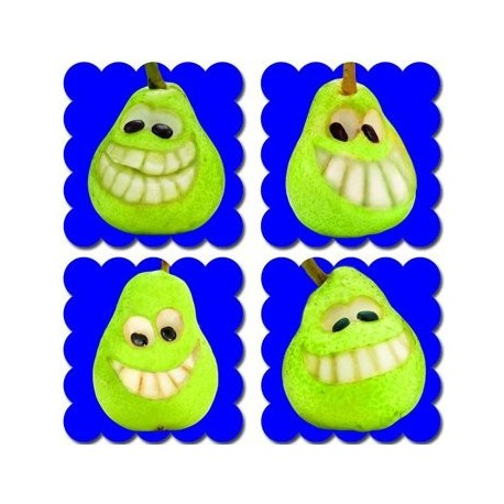 Photo Fruit Scratch N Sniff Stickers – Pear