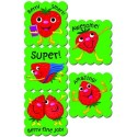 Cartoon Fruit Scratch N Sniff Stickers – Strawberry
