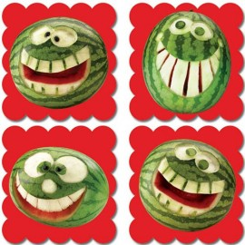 Photo Fruit Scratch N Sniff Stickers – Watermelon