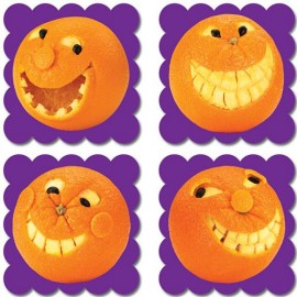 Photo Fruit Scratch N Sniff Stickers – Orange
