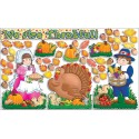 Happy Thanksgiving! Bulletin board set