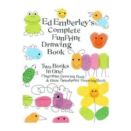 Ed emberley's complete funprint drawing book
