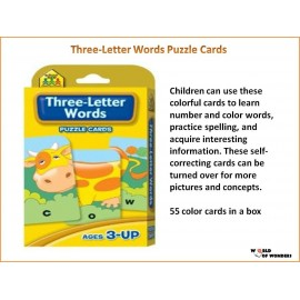 Three- Letter Words Puzzle Cards